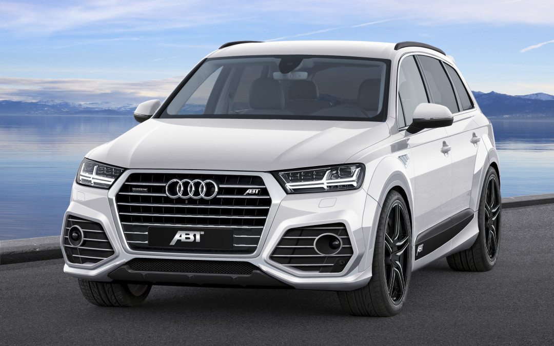 An extensive visual package for the Audi Q7