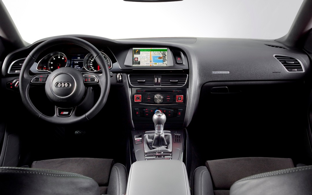 New Premium Navigation System for Audi A4 and A5 from Alpine