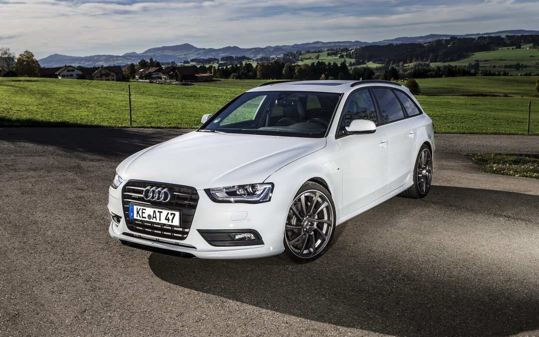 The Audi AS4 ABT 380 bhp