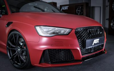 Audi RS3 with ABT intercooler and 450 hp