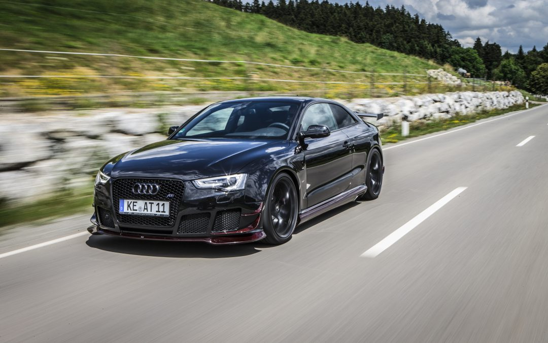 Martial, Bavarian, simply good – the ABT RS5-R, speeding along with 290 km/h