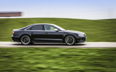 Racing limo – ABT POWER S accelerates Audi S8 at 100 kph in 3.6 secs