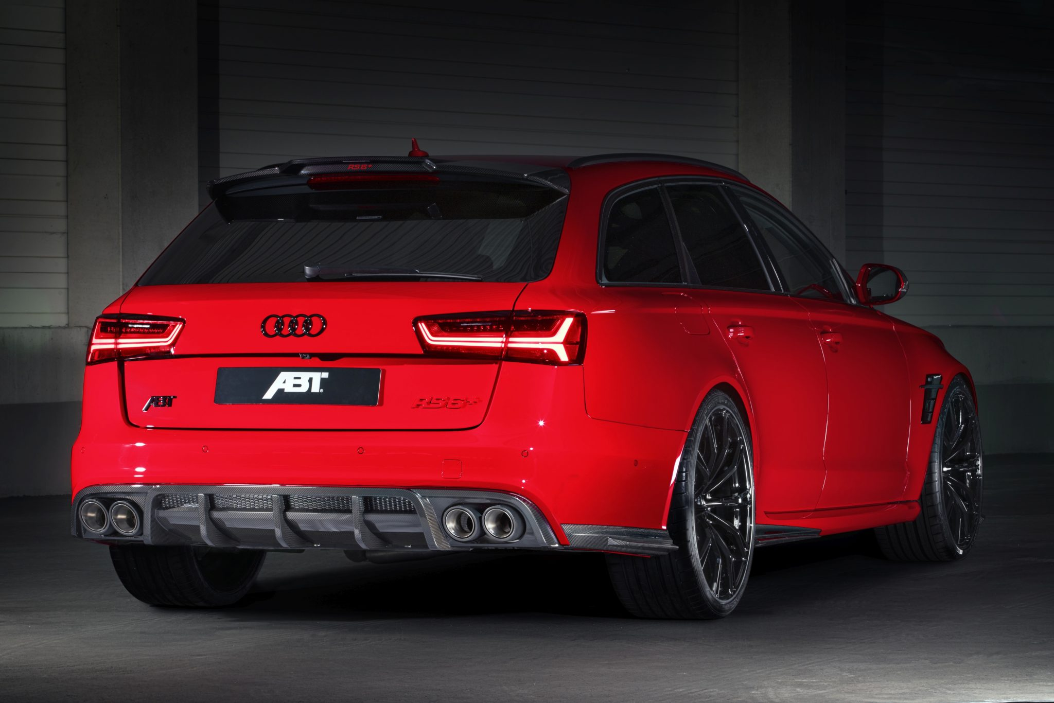 RS6+ Audi ABT Back